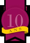 Badge 10 ans